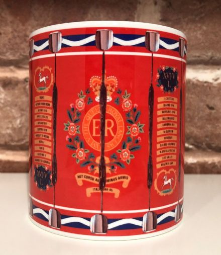 16th/5th Queen's Royal Lancers Drum Mug